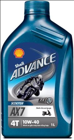Shell Advance AX7
