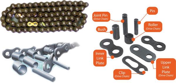 Rantai motor honda genuine parts