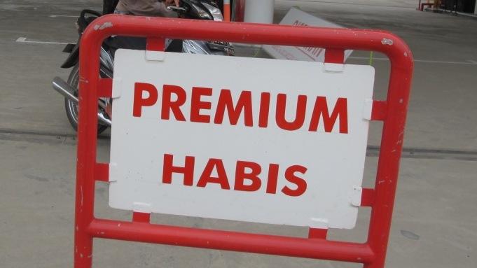 Premium Habis