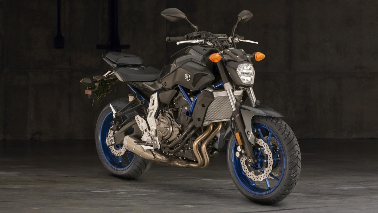 Front Yamaha FZ-07 2015