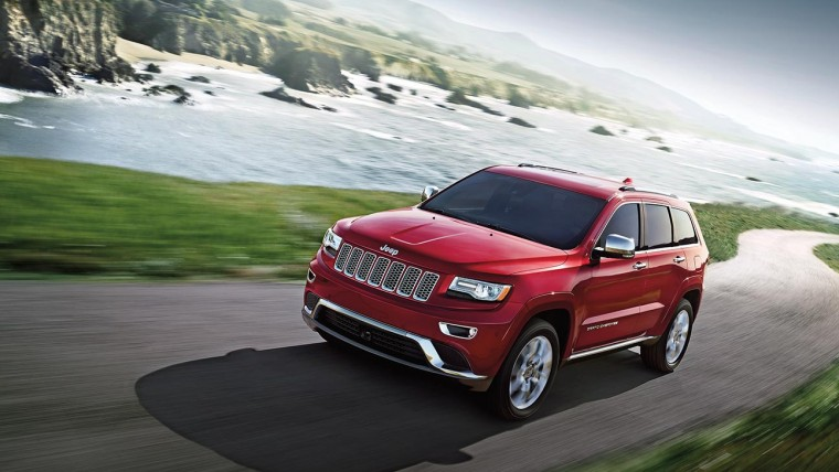 Jeep Grand Cherokee Deep Cherry Red Crystal Pearl
