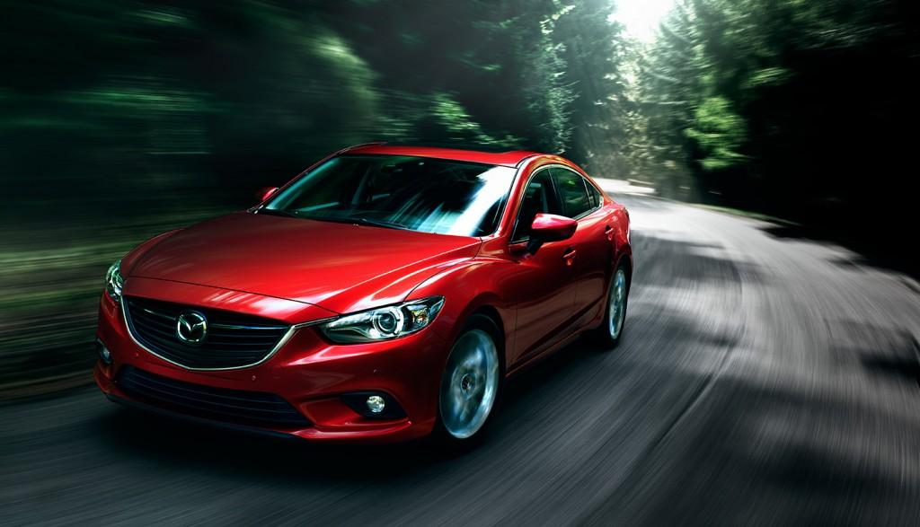 Mazda6 warna merah