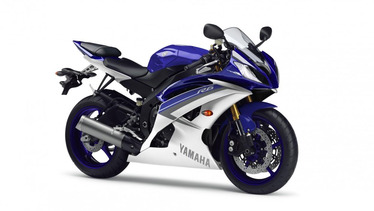 Yamaha YZF-R6 2015 Race Blue
