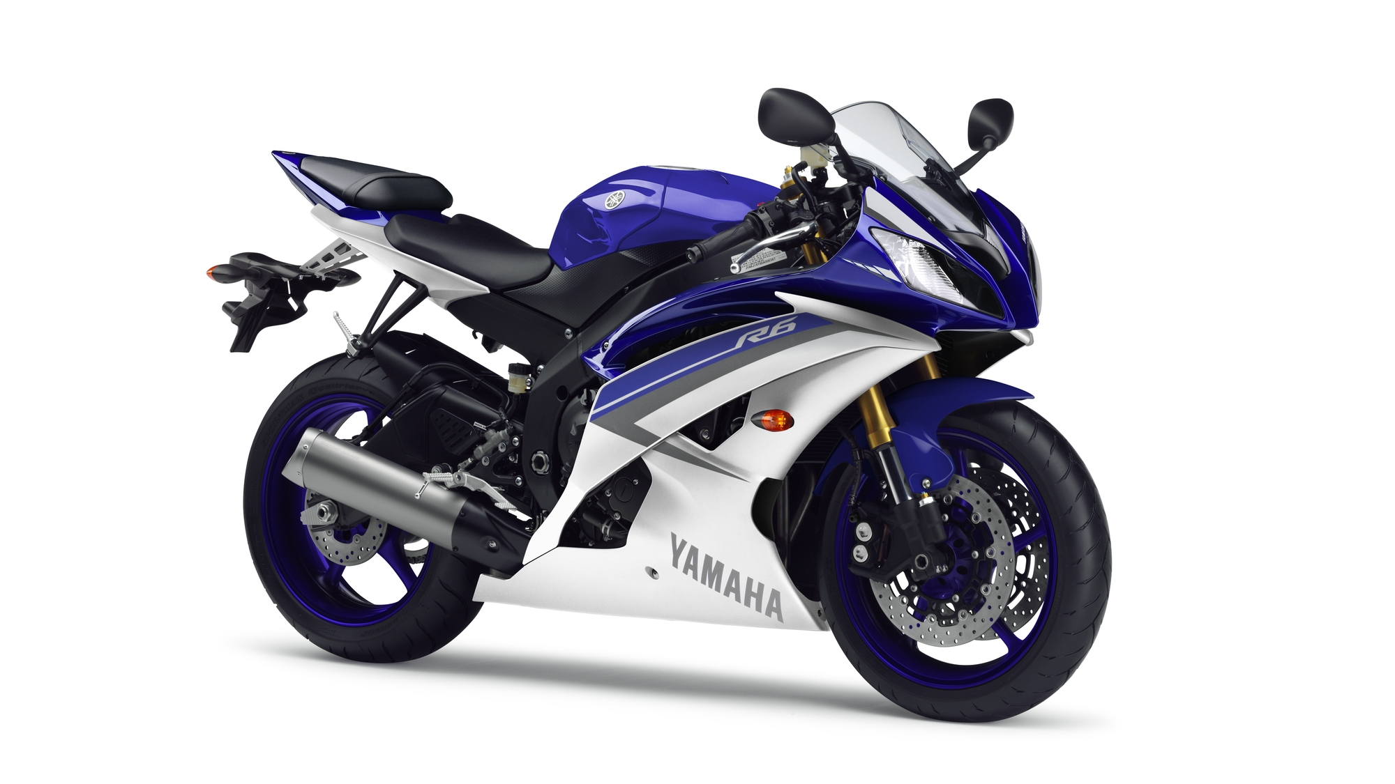 Yamaha YZF-R6 2015 Race Blue