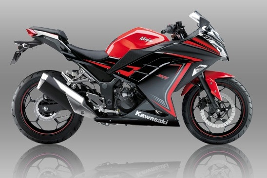 Kawasaki Ninja 250 SE Warna Merah