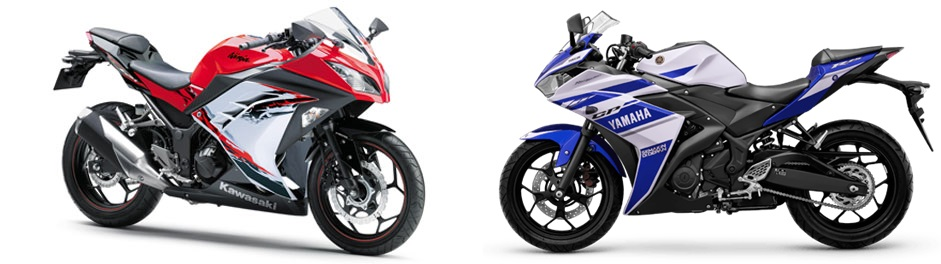 Yamaha R25 vs Kawasaki Ninja 250
